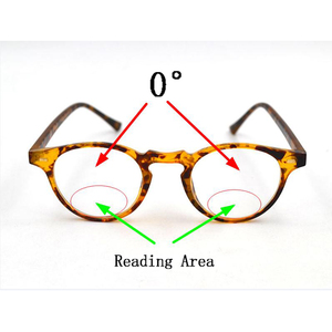 Image 2 - אינטליגנטי Photochromic דו מוקדי משקפי קריאת זכוכית מגדלת יוניסקס קורא משקפי שמש מראה ליד רחוק אורז נייל Presbyopic Gafas D5