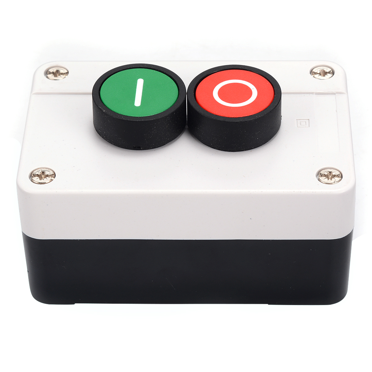 1X Push Button Case Box Control Station Switch Remote Start Stop Motor Solenoid IP55 Button Box Switch Accessories1X Push Button Case Box Control Station Switch Remote Start Stop Motor Solenoid IP55 Button Box Switch Accessories