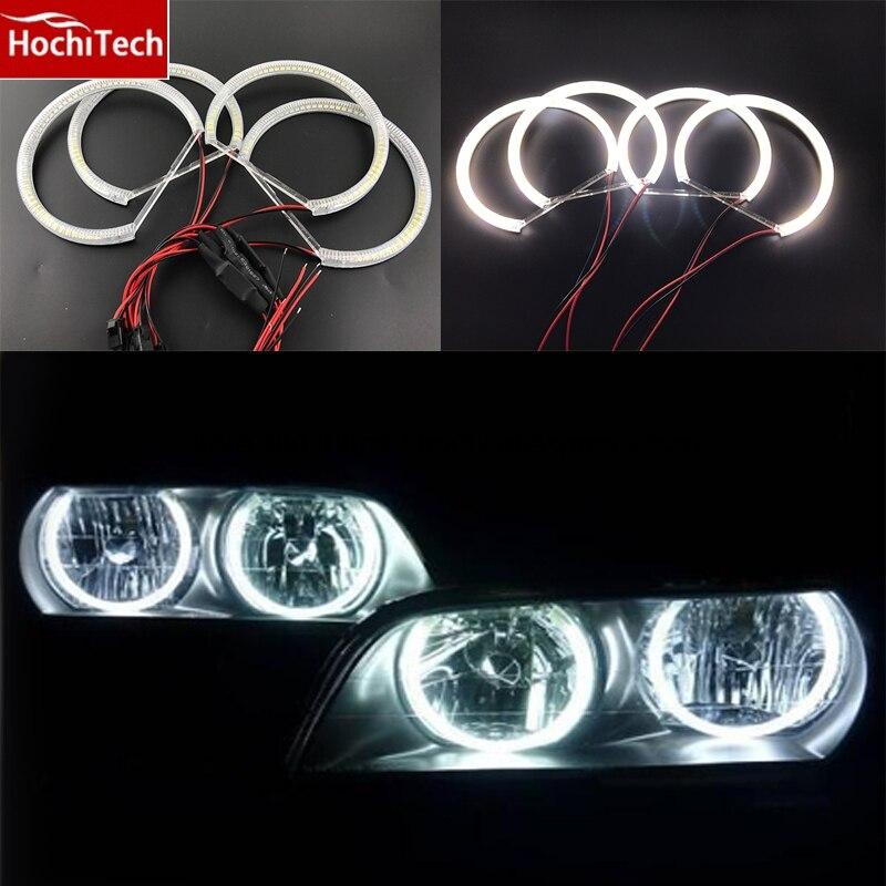 Горячий стиль светодиодов SMD глаза ангела супер яркий белый из светодиодов гало света-комплект для Toyota Х100 Чейзер 1996 1997 1998 1999 2000 2001