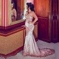 Venda quente Mãe da Noiva Dressses 2017 Mangas Compridas Árabe Frisado Vestidos de Festa mãe da noiva terno pant