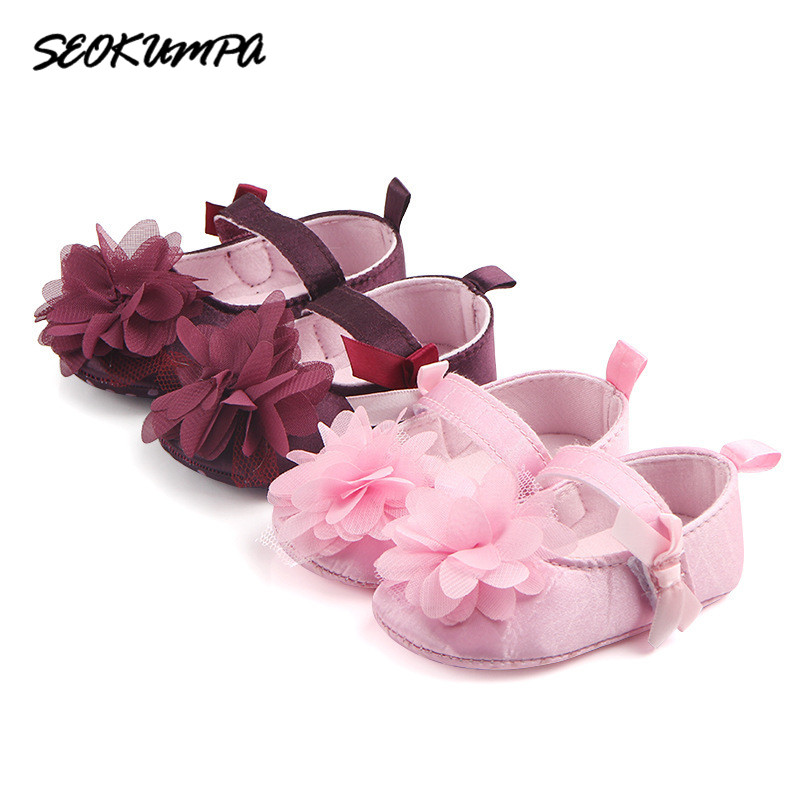 Toddler Baby Boy Girl Summer Infant Soft Crib Shoes 0-6 7-12 13-18 Month Children Infant Boys Girls Casual Pink First Walker
