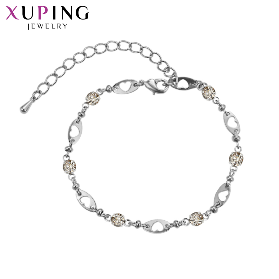 Xuping New Design Simple Elegant Bracelets Charm Style Bracelets for Women Jewelry Halloween Gifts S84.2-<font><b>75177</b></font> image