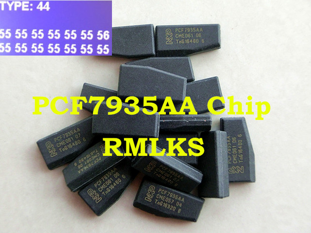 RMLKS New Transponder Chip Ignition Chip ID44 PCF7935AS Fit For BMW MINI For Land Rover For Volvo Bently For VW etc