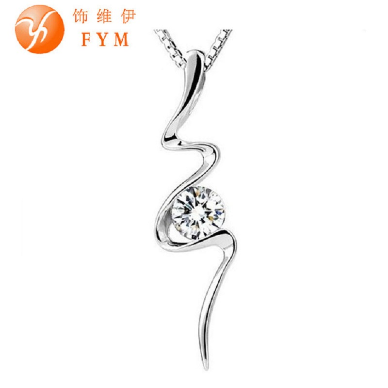 Luxury Classic Retro Ethnic Genuine Aaa Cubic Zirconia Stone Necklace Silver Color Gifts Jewelry For Women Bride Wedding Necklaces & Pendants Jewelry & Accessories