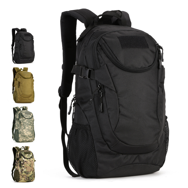 25L Waterproof 14inch Laptop Military Backpack Tactical Bag Men Outdoor Sports Backpack Tourist Hiking Camping Rucksack S401