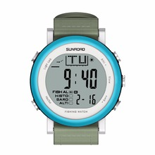 SUNROAD FR721A Men's sport Digital watch Hours Running watches Altimeter Barometer Compass Thermometer Weather Pedometer (Blue)