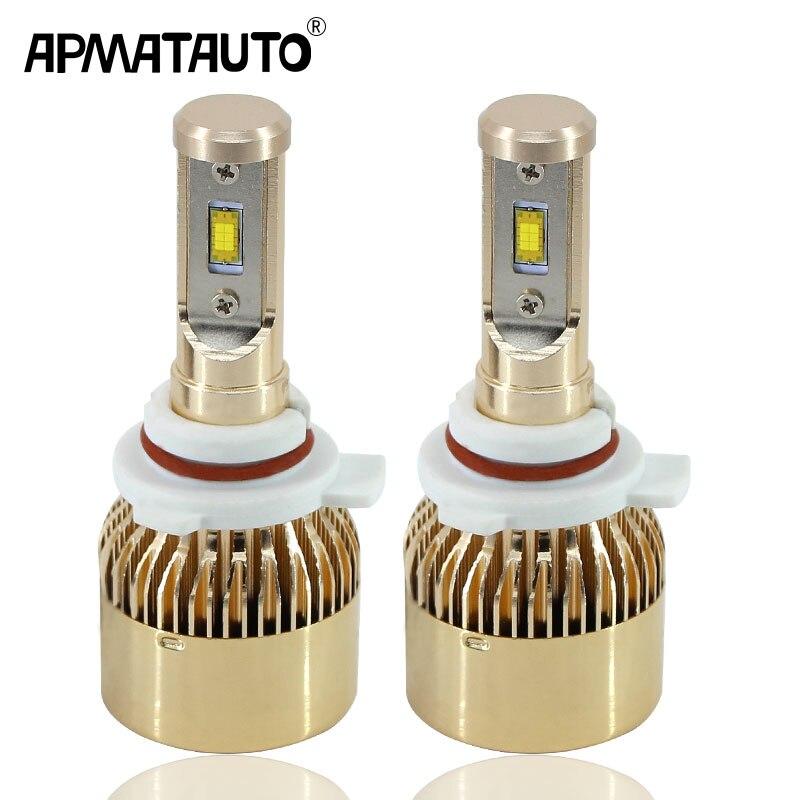 Apmatauto 2X LED Headlight H1 H3 H4 H7 H8 H9 H11 H16(JP) 880 881 9005 H10 9006 9012 18000LM Fog Lamp Bulb DRL Kit 6000K White pair 9600lm w cree cob chips h1 h3 h4 h7 h8 h9 h11 880 881 9005 9006 9012 car led headlight kit bulbs 6000k white page 4