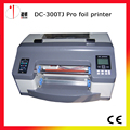 DC-300TJ Favorable digital foil impresora, máquina de estampación en caliente digitales de impresión material de rollo, cinta de la impresora digital, estampado en caliente impresora