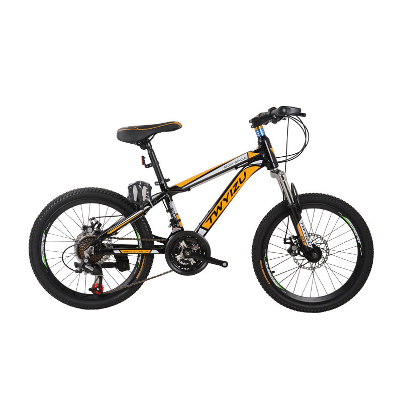 20 Inch 7 speed Aluminium mountain bike for boys girls Front wheel V brake,rear axle brake children's outdoor sport bicycle pasion e bike 28 road bike utility bicycle electric conversion kit 48v 1500w rear wheel motor 7 speed freewheel sensor brake
