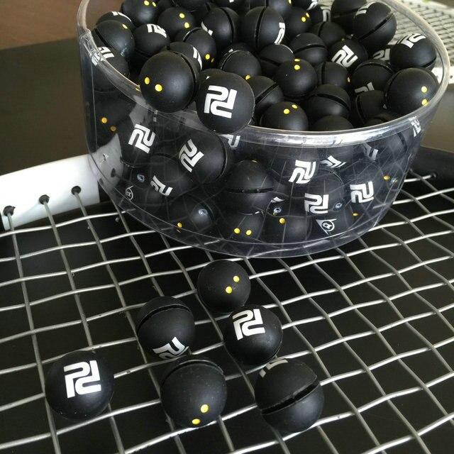 10 pcs/lo a última globular/squash raquete de tênis raquete de amortecedores de vibração/raquete de tênis