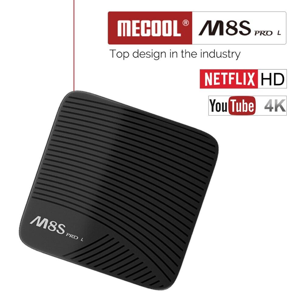 MECOOL M8S PRO L Smart Android 7.1 TV Box S912 Octa core