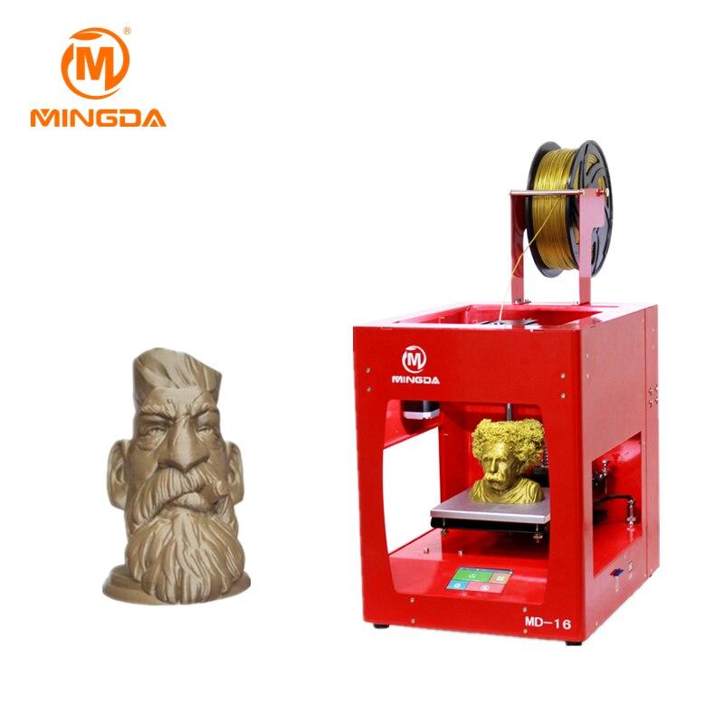 Offres spéciales MINGDA bureau imprimante 3D nouvelle FMD 3D Machine d'impression trois couleurs en métal 3 D imprimante à vendre