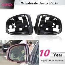 Крышка QX боковое зеркало заднего вида рамка Крышка без отверстия для камеры для Ford Focus MK3 2012- зеркало объектив дом крышка Замена
