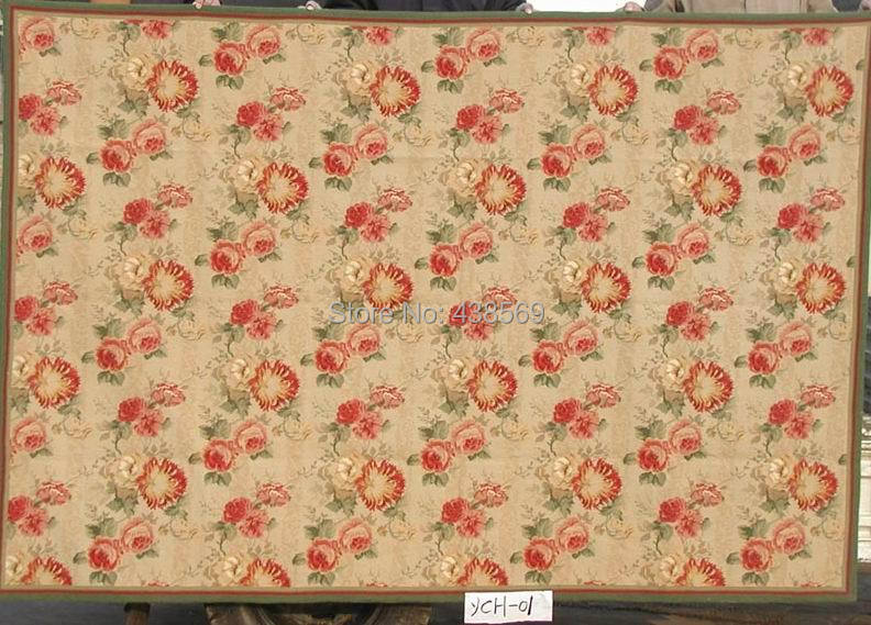 Free Shipping 9u0027x12u0027 Handmade Needlepoint Woolen Rugs High Quality Prices 100