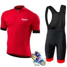 Велоспорт Джерси Набор 2019 Pro Team Лето Мужчины Велоспорт Набор гоночный велосипед одежда Костюм дышащий горный велосипед одежда спортивная одежда