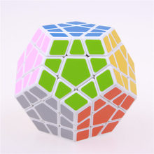 12-SIDES MAGIC MEGAMINX SPEED CUBE PUZZLE SHENGSHOU AND QIYI STICKER LESS COLORFUL CUBO MAGICO TOYS FOR CHILDREN WHOLESAL