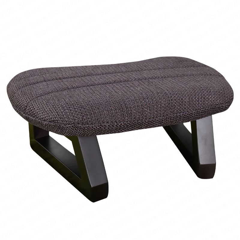 B Home Fashion Creative Fabric Stool Chair Living Room Sofa Bench Adult Shoe Bench Wear Shoes Stool Solid Wood Stool
