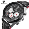New Arrivals BENYAR Fashion Chronograph Sport Mens Watches Top Brand Luxury Quartz Watch All Small Dials