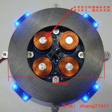لتقوم بها بنفسك المغناطيسي الإرتفاع وحدة المغناطيسي تعليق الأساسية مع LED مصباح الوزن 500g