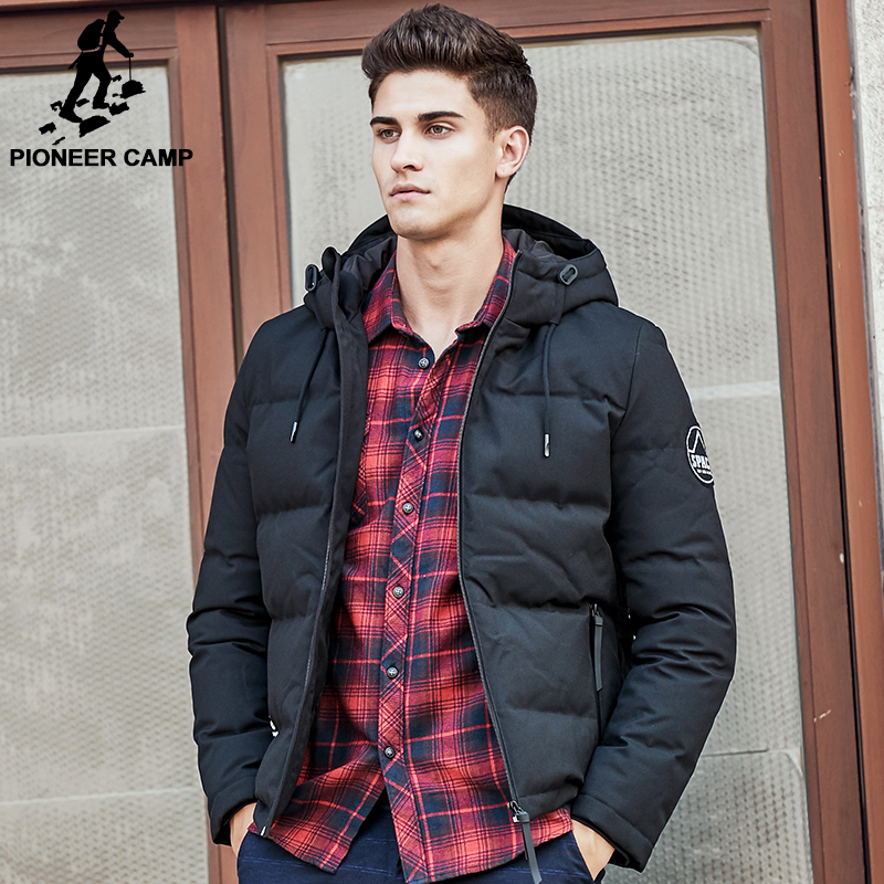 Aliexpress.com : Buy Pioneer Camp men down jacket brand puffer ...