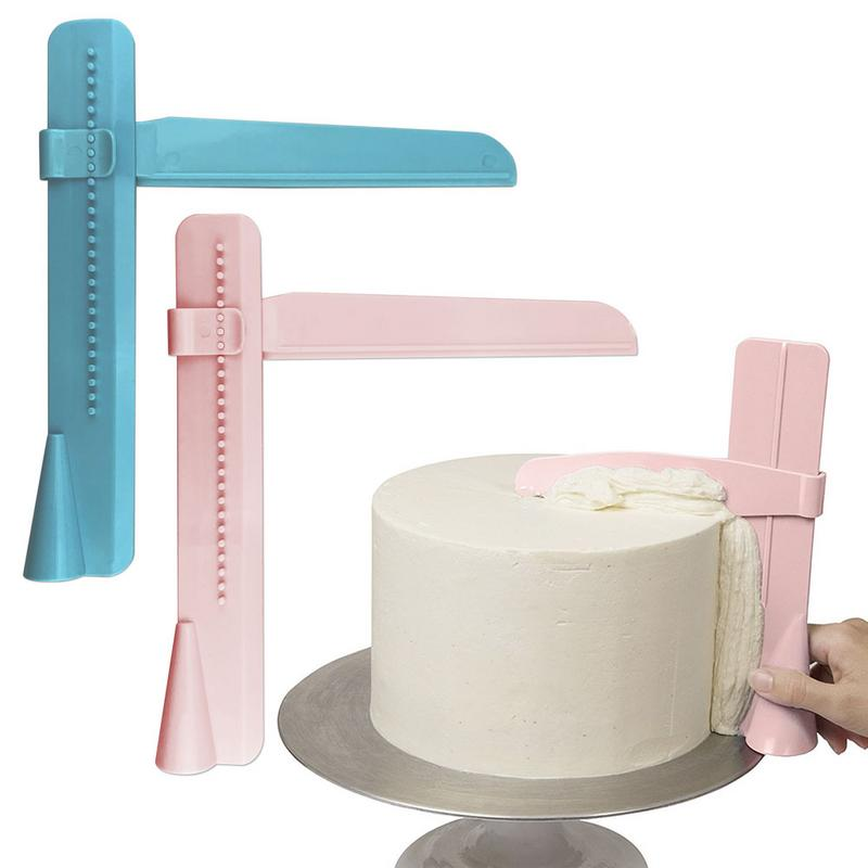 Cake-Scraper Decorating Fondant-Spatulas Kitchen-Cake-Tools Adjustable
