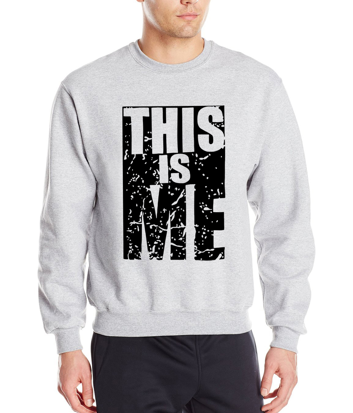 2019 new This Is Me letters personalized spring winter fashion sweatshirts hoodies hip hop style brand clothing loose tracksuit