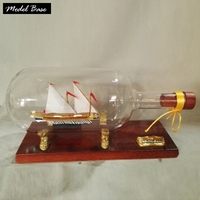 Деревянный корабль комплекты моделей детские развивающие игрушки Diy 3d вырезанный лазером по дереву весы 1/450 модель корабля для сборки Кале