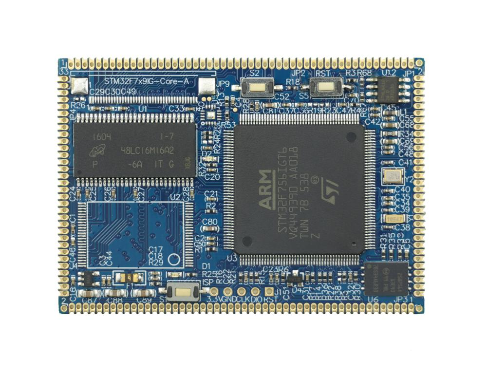 STM32F756IG backplane + core board network, USB CAN, SD, M7 kernel, with SDRAM - 4