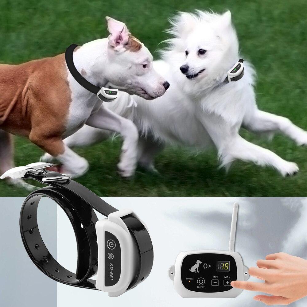 Wireless Recinto Del Cane A Distanza Collare di Addestramento Dell'animale Domestico Elettronico Sistema di Contenimento Impermeabile e Ricaricabile KD-661