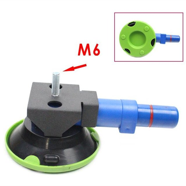 """3"""" Concave Vacuum Cup 75mm Heavy Duty Hand Pump Suction Cup with M6 Threaded Stud"""