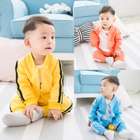 New Spring Autumn Kids Clothes Sets Baby Casual 2 Pcs Suit Jackets Hoodies Pants Baby Set