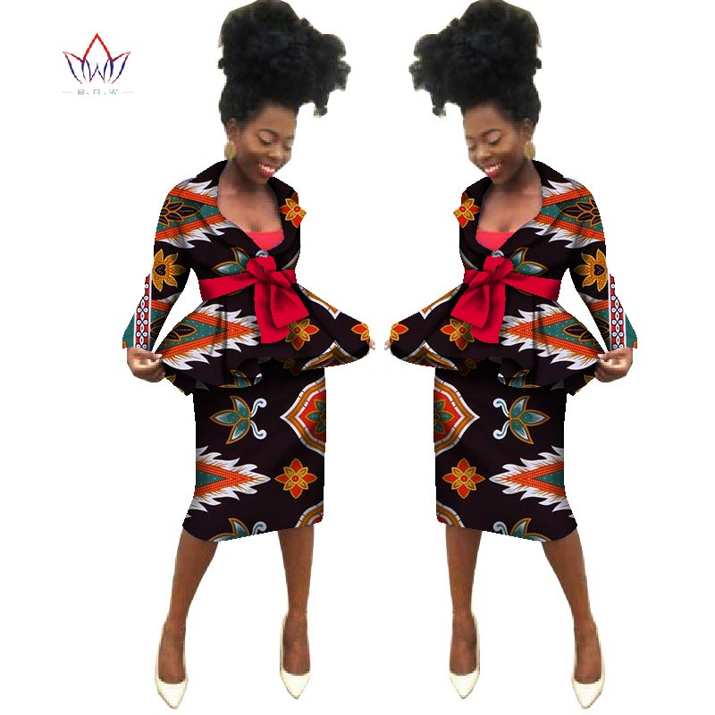 Sommar Nya afrikanska kjol passar Dashiki kvinnor elegant dam - Nationella kläder - Foto 5