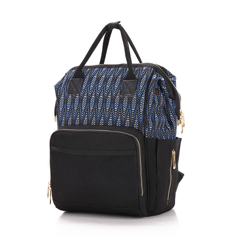2017 New multi-functional large-capacity mummy bag fashion double mother baby package pregnant women to be produced package functional capacity of mango leave extracts