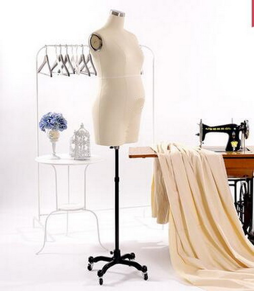 China Maternity Pregnant Mannequins bust ,fabric flexible,dressmaker Disply,styrofoam ,tete maquillage,foam polistirolo,M00316