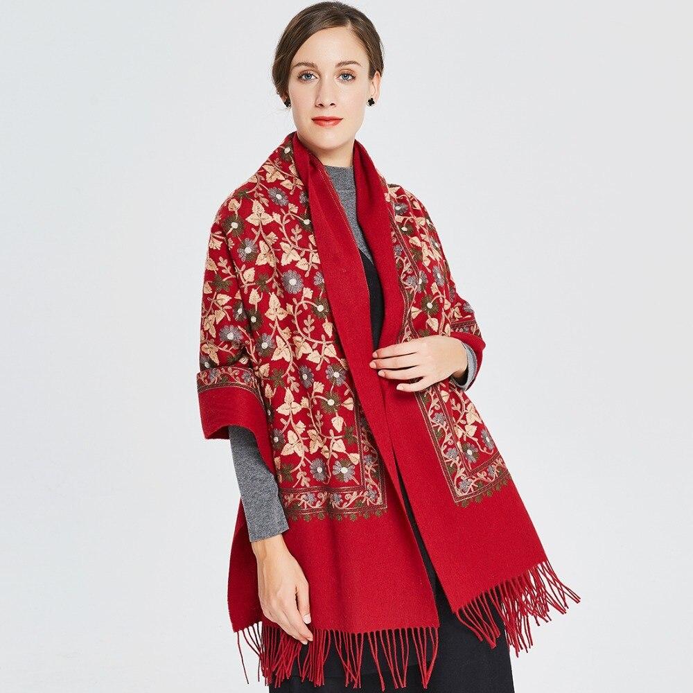 ef4bc3d1022b 2018 New Fashion Winter Scarf For Women Scarves Warm Shawls Luxury Brand  Wrap Plaid Blanket Scarf