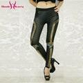 Wholelsales Nuevas Mujeres leggings 3D Impreso leggins pantalón legging legins de fluorescencia de Rayos de color para Mujer