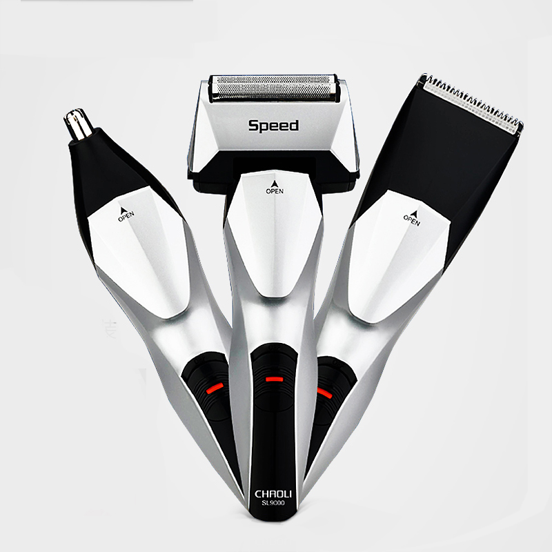 Electric Shaver Rechargeable Reciprocating Twim Blades Shaver Razor Trimmer Cutter Head Men Face Care 3D Floating Gift For Men yingjili razor manual razor metal holder 3 layers razor blades safty shaver for man care