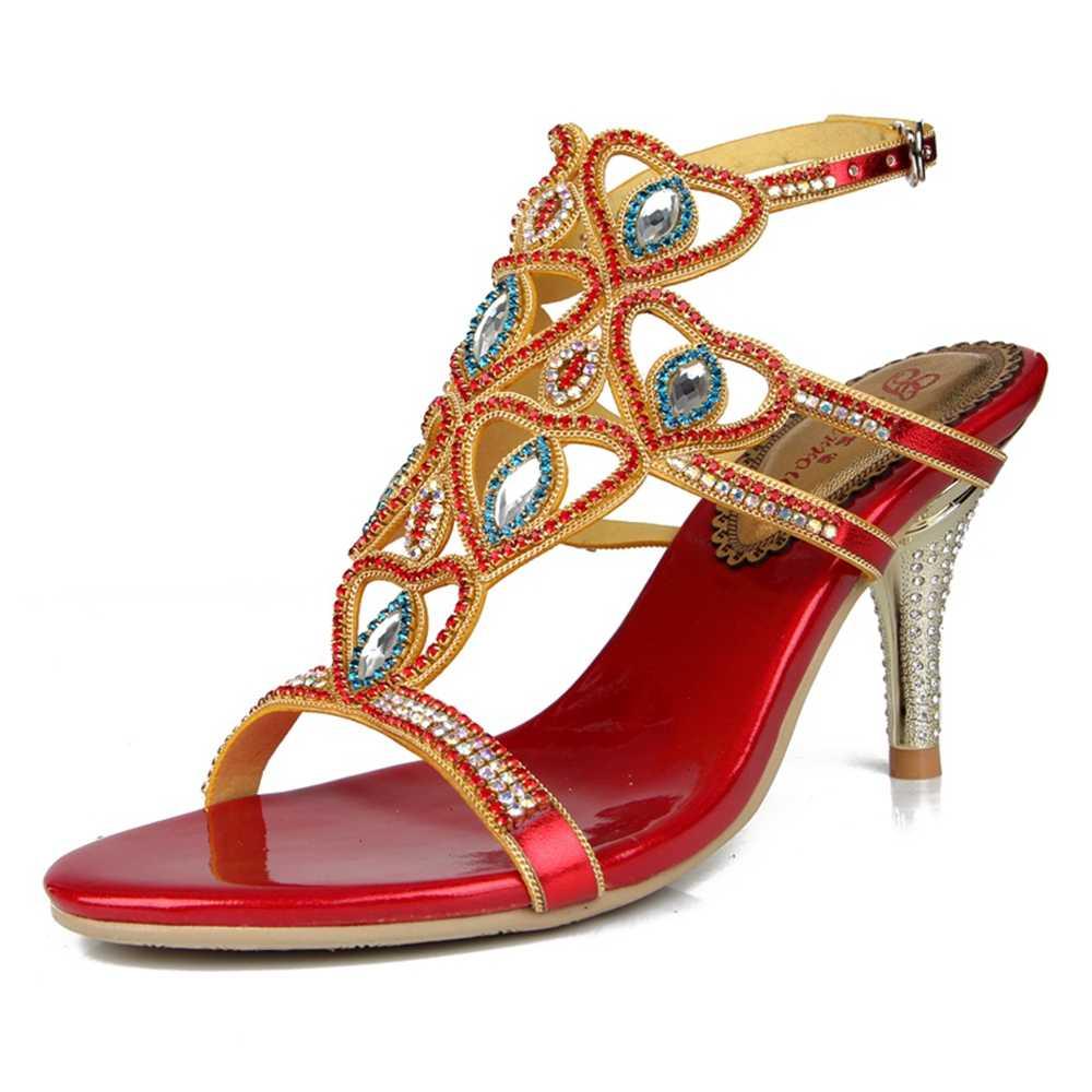 5523 متجر جديد الأزياء عالية الجودة العلامة التجارية الشهيرة أحذية صناديل للنساء جلد طبيعي أحذية نسائية الصنادل zapatos موهير