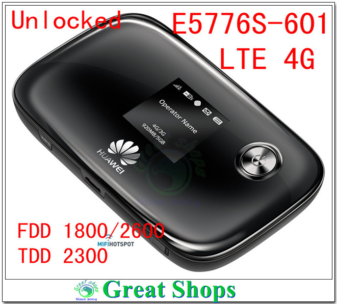 Unlocked HUAWEI E5776 E5776S-601 wifi Router 4G LTE FDD Mobile Hotspot pk e5372 unlocked huawei e5776 e5776s 601 mifi wireless router 4g lte wifi dongle 4g lte wifi router mobile hotspot pk e5372