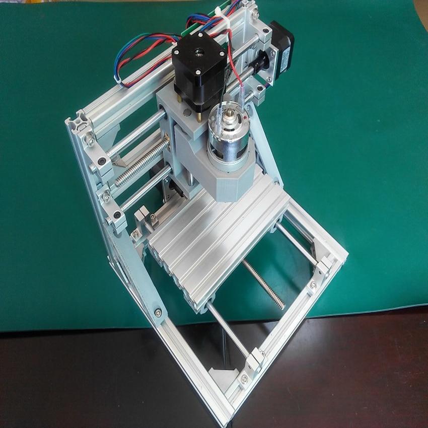 1pc mini macchina CNC plastica fai da te, acrilico, pvc, pcb, legno o - Attrezzature per la lavorazione del legno - Fotografia 5