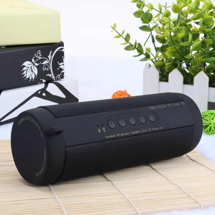 オリジナル T2 真のワイヤレス Bluetooth スピーカー防水ポータブル屋外ミニ Blutooth 列ラジカセ pk エクストリームスピーカー