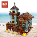 Lepin Ideas 16050 Creative House the Old Finishing Store MOC Building Kit Blocks 21310 Bricks Compatible Legoinglys DIY Toys