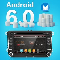 2 Two Din Aux Gps Quad Core Android 6 0 Gps 2Din 7 Inch For Volkswagen