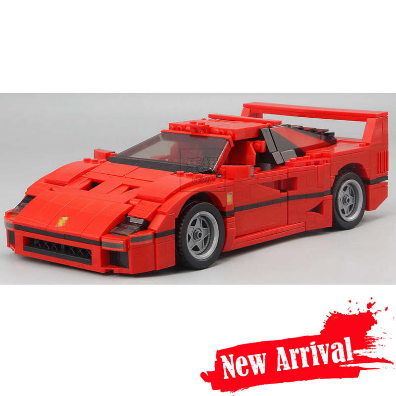 IN - STOCK Free Shipping 1158pcs NEW LEPIN 21004 F40 Sports Car Model Building Kits Blocks Bricks Compatible 10248 Boys Gift