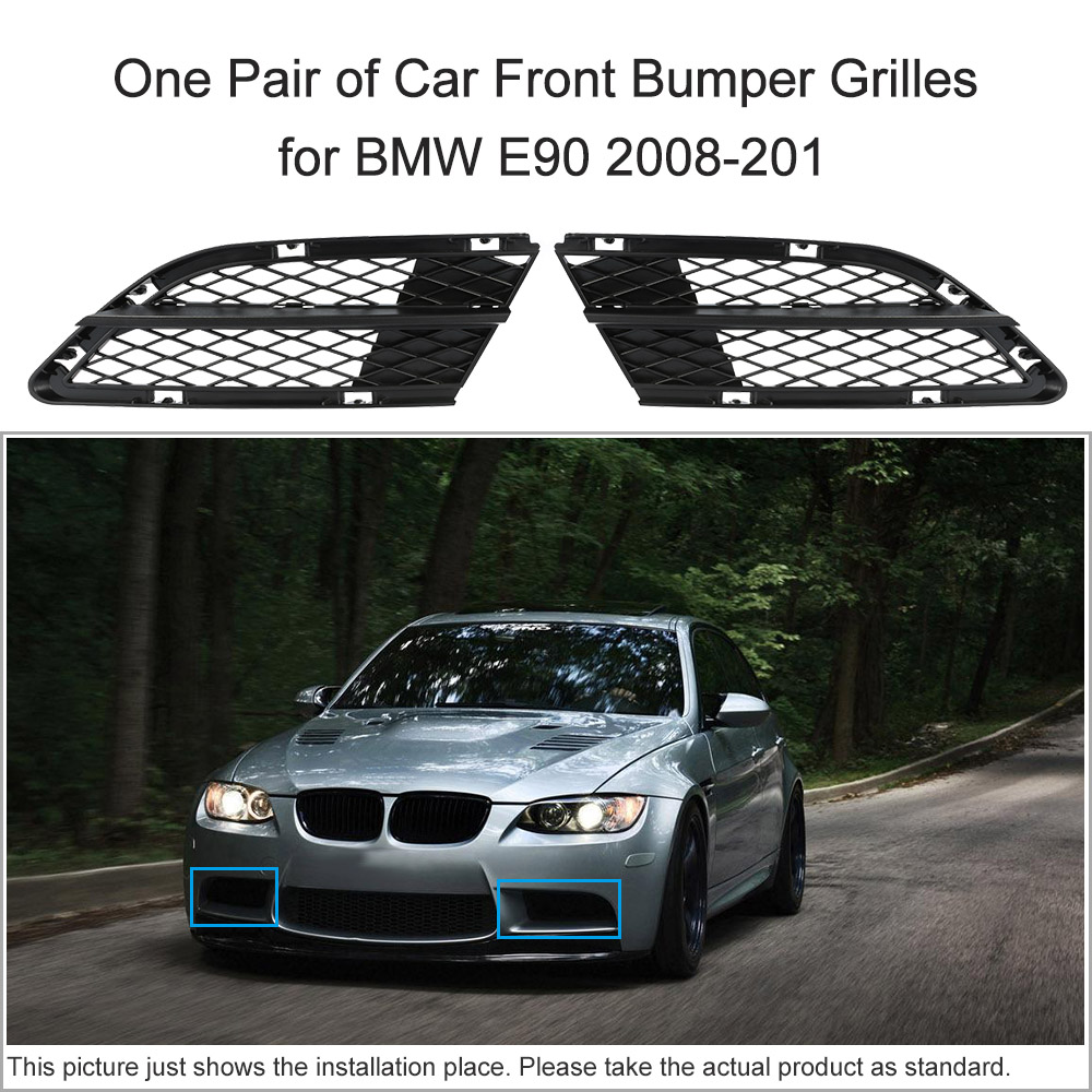 Design of a car bumper - Kkmoon One Pair Of Car Front Bumper Grilles Grille For Bmw E90 2008 2011