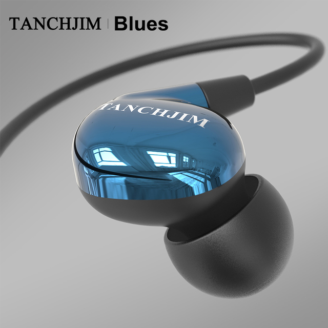 TANCHJIM Blues HiFi Audio DMT Dynamic driver In-ear earphone IEM for Blues/Pop/Rock Music For Mobile Phone Line Type earbuds 2