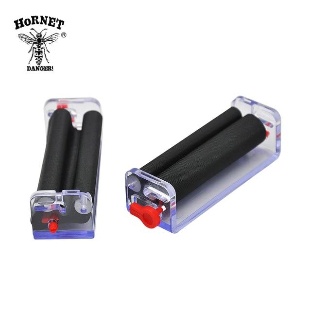 70mm Transparent Adjustable Plastic Tobacco Roller Cigarette Rolling Machine Hand For 78MM Paper Color