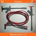 Multímetro y industria del automóvil herramienta de prueba de niños/juegos. gancho de prueba/clip + 1.0 M enchufe de cable de prueba 2 en 1 herramienta de prueba, CATIII 1000 V/16A