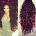 Wholesale Brazilian U part wig 180 Heavy density Curly U part Human Hair wigs for black women with adjustable straps in stock