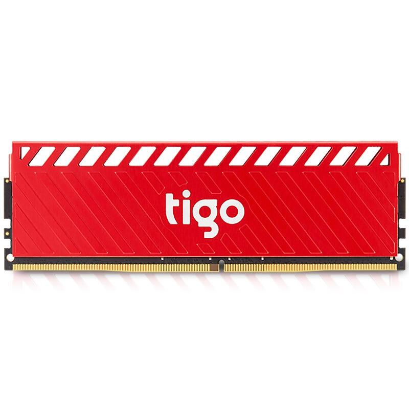 Tigo Gaming Memoria RAM DDR 4 8GB Cooling Heat Sink DIMM Memory DDR4 2666MHz For Desktop PC X3 rgb 265 light effect ram cooling shell heat sink aluminum alloy memory cooling radiator glow desktop memory cooling vest